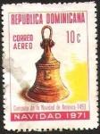 Sellos del Mundo : America : Rep_Dominicana : NAVIDAD - CAMPANA DE LA NAVIDAD DE AMERICA 1493