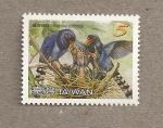 Stamps Asia - Taiwan -  Rabilargo