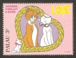 Stamps Oceania - Palau -  duchess, o'malley y marie