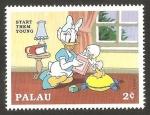 Stamps Oceania - Palau -  daisey y su sobrina