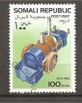 Sellos del Mundo : Africa : Somalia :  Retrospectiva del automovil.
