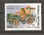 Stamps Somalia -  Retrospectiva del automovil.