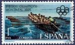 Stamps Spain -  Edifil 2340 JJ.OO. Montreal 1