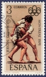 Stamps Spain -  Edifil 2342 JJ.OO. Montreal 1976 3