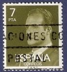 Stamps Spain -  Edifil 2348P Serie básica Juan Carlos I 7 fosforescente OSCURO