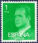 Stamps Spain -  Edifil 2390 Serie básica Juan Carlos I 1