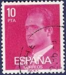 Stamps Spain -  Edifil 2394P Serie básica Juan Carlos I 10 fosforescente
