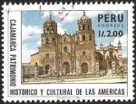 Sellos del Mundo : America : Perú : CAJAMARCA PATRIMONIO HISTORICO Y CULTURAL DE LAS AMERICAS