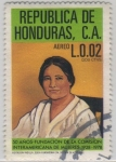 Stamps of the world : Honduras :  Visitación Padilla