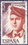 Stamps Spain -  Edifil 2398 Jacinto Verdaguer 5