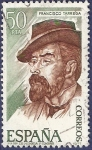 Stamps Spain -  Edifil 2401 Francisco Tárrega 50