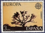 Stamps Spain -  Edifil 2413 Europa CEPT 1977 3