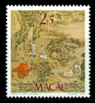 Stamps Asia - Macao -  Aniv. Camoens