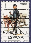 Stamps Spain -  Edifil 2423 Oficial de administración militar 1