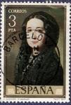 Stamps Spain -  Edifil 2431 Carolina Coronado 3