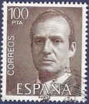 Stamps Spain -  Edifil 2605 Serie básica Juan Carlos I 100