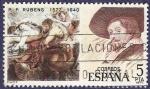 Stamps Spain -  Edifil 2464 Rubens 5 central
