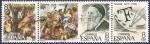 Sellos de Europa - España -  Edifil 2466-2467-2468 Bloque Tiziano 8 completa