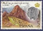 Sellos de Europa - España -  Edifil 2494 Viaje de los Reyes a Perú 5
