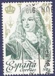 Stamps Spain -  Edifil 2497 Luis I 5