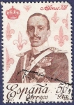 Stamps Spain -  Edifil 2504 Alfonso XIII 50