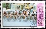 Sellos del Mundo : Africa : Burkina_Faso : El ciclismo en las Olimpiadas de Moscu