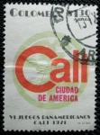 Sellos de America - Colombia -  VI juegos Panamericanos de Cali