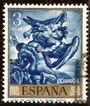 Sellos de Europa - España -  Jacob y el ángel - José Mª Sert