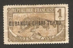 Stamps : Europe : Central_African_Republic :  oubangui chari tchad - tigre