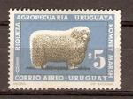 Sellos de America - Uruguay -  CARNERO