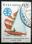 Stamps America - Colombia -  VI juegos Panamericanos de Cali.