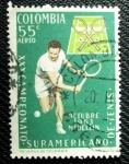 Sellos de America - Colombia -  Campeonato Suramericano de Tenis