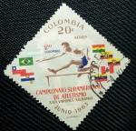 Stamps Colombia -  Campeonato Suramericano de Atletismo