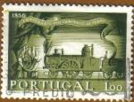 Stamps : Europe : Portugal :   Centenario DOS CAMINHOS DE FERRO