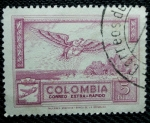 Stamps Colombia -  Correo extra-rapido