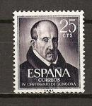 Stamps Spain -  IV Centenario del nacimiento de Luis de Gongora