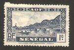 Sellos del Mundo : Africa : Senegal :  Puente Faidherbe