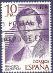 Stamps Spain -  Edifil 2514 Francisco Villaespesa 10