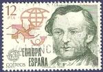 Sellos de Europa - España -  Edifil 2521 Europa CEPT 1979 Manuel Ysasi 12