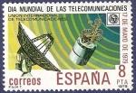 Stamps Spain -  Edifil 2523 Día mundial de las telecomunicaciones 8