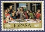 Sellos de Europa - España -  Edifil 2541 Santa Cena 25