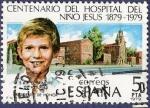 Sellos de Europa - España -  Edifil 2548 Centenario del Hospital del Niño Jesús 5
