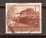Sellos de Europa - Alemania -  TRANSPORTE  DE  ARTILLERÍA