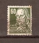 Sellos de Europa - Alemania -  G. W. F. HEGEL