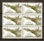 Stamps Spain -  Sahara / Pro Infancia