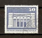Stamps Germany -  DDR / Construcciones Socialistas en la RDA