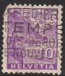 Sellos de Europa - Suiza -  CASTILLO CHILLON.