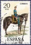 Stamps Spain -  Edifil 2385 Capitán de artillería 20
