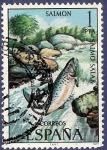 Stamps Spain -  Edifil 2403 Salmón 1