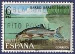 Stamps Spain -  Edifil 2407 Barbo 6